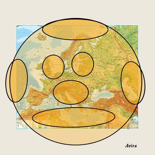 The Pumpkin Face of Europe